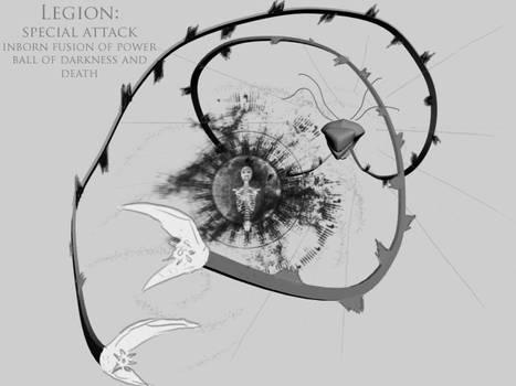 DW4 Legion - Power Ball Attack