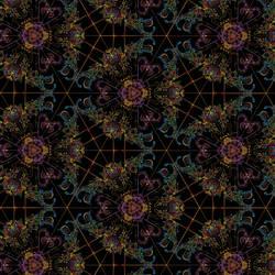 Hippie 1-Kaleidoscope by PanPoppy