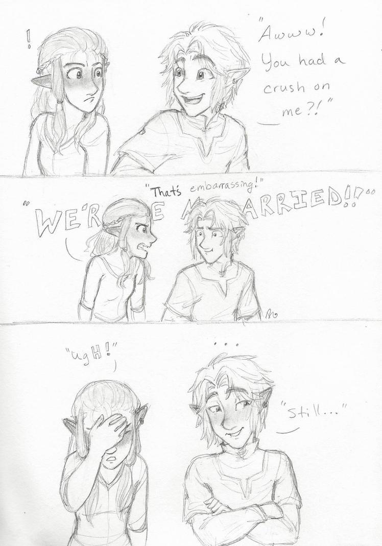 That's Embarrassing by LOZ-Elisrilianfan