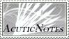 AcuticNotes Stamp