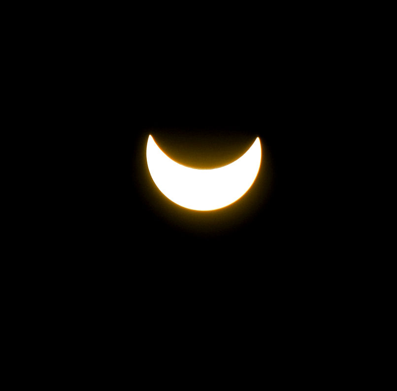 Partial Solar Eclipse by Biljana1313