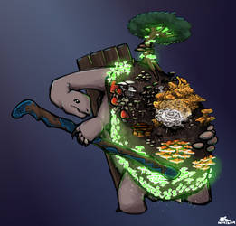 Rori - Tortle Druid by SatansPancreas