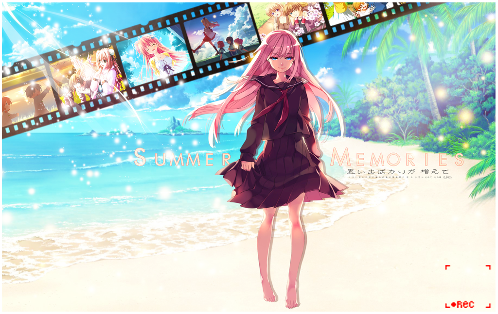 ANIME WALLPAPER - SUMMER FULL OF MEMORIES (by Shijori ...