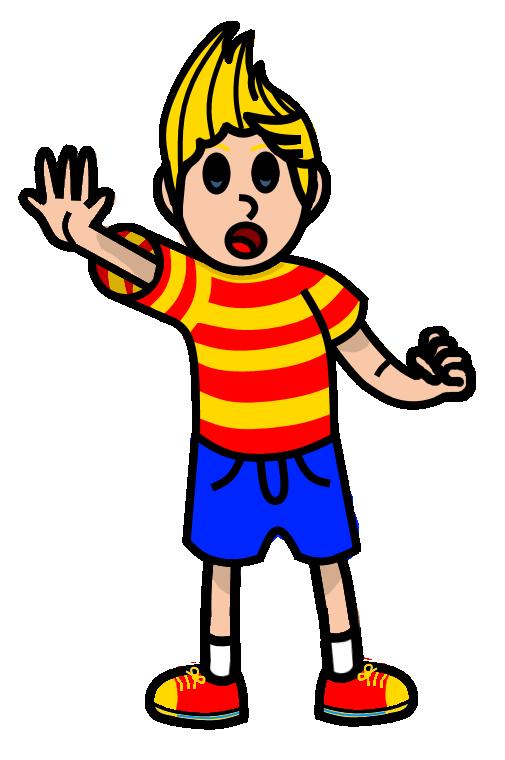Lucas Drawing by PokemonPikmin573