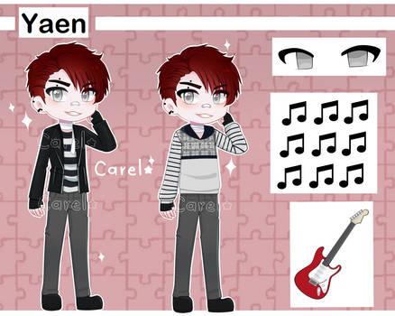 Yaen referencia (Original Character)