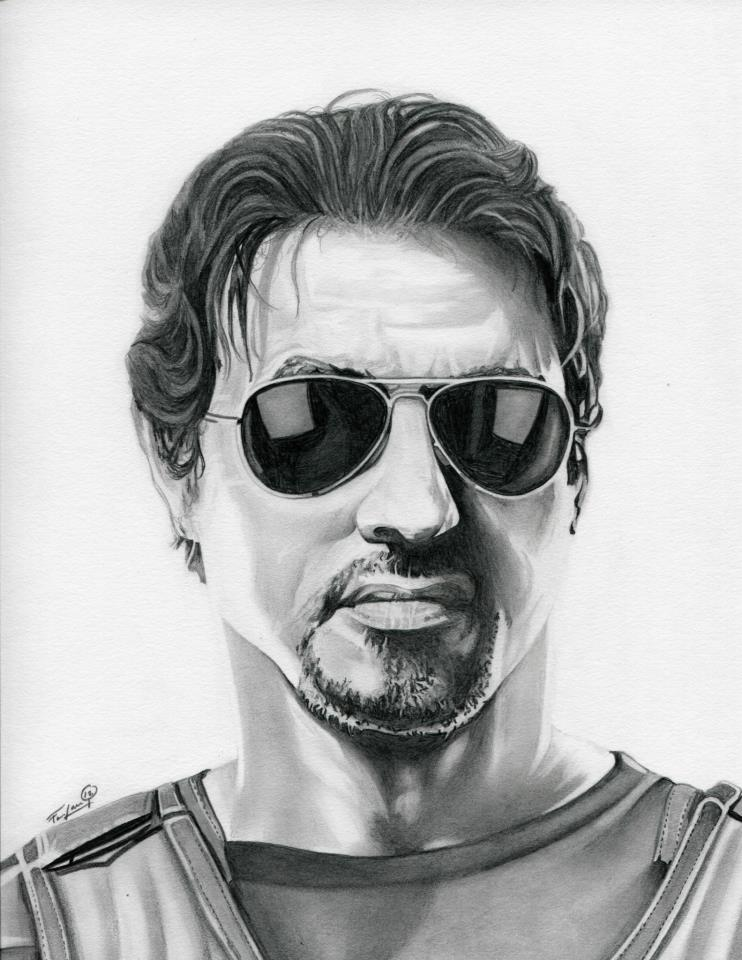 Sylvester Stallone The Expendables by TheNightGallery on ...