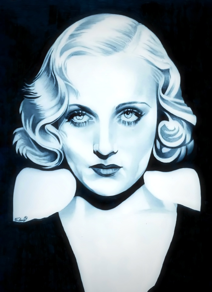 Carole Lombard  (In Living Color) by TheNightGallery
