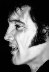 Elvis Presley by TheNightGallery
