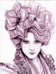Effie Trinket  The Hunger Games  Magenta