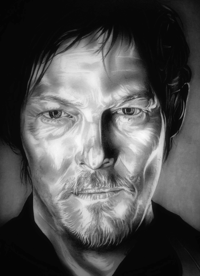 Daryl Dixon - The Walking Dead by TheNightGallery