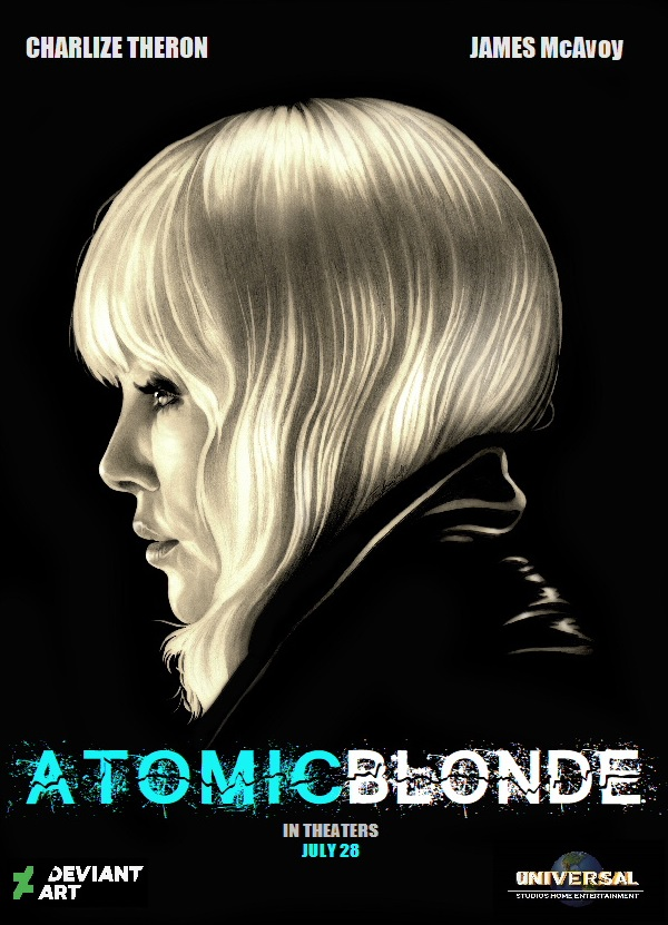 Atomic Blonde Charlize Theron - Graphite by TheNightGallery
