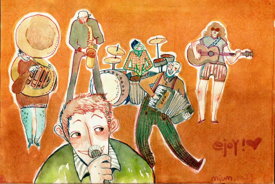 happy band by miumzoo