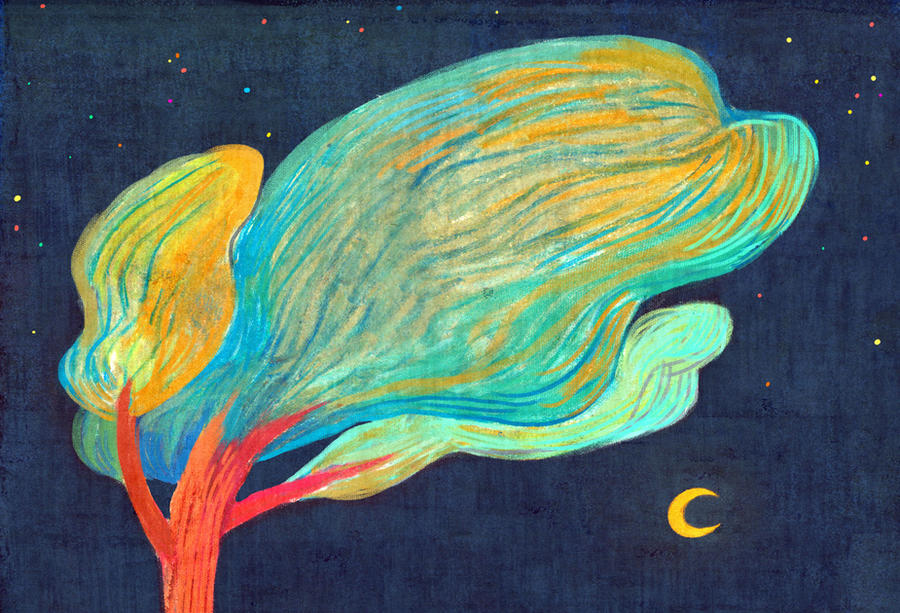 Words of night by miumzoo