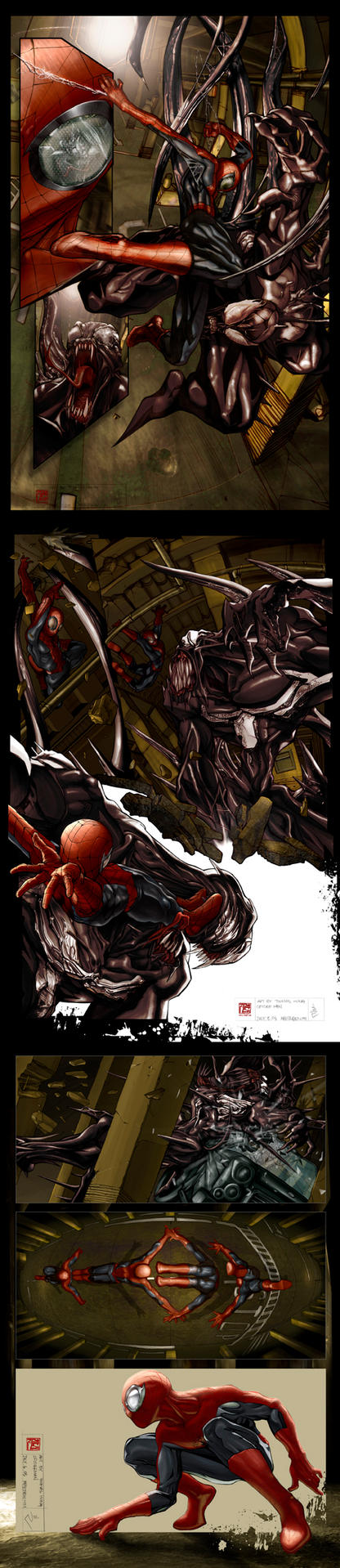 five.deadly.second-:spiderman: by HOON