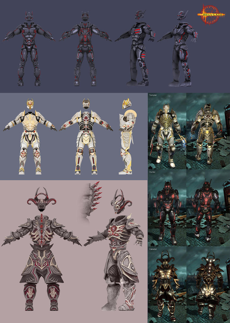 Hellgate: London- new skin by HOON