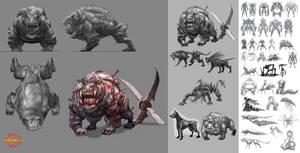 Hellgate:London creature study