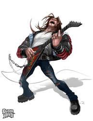 Axel- guitarhero by HOON
