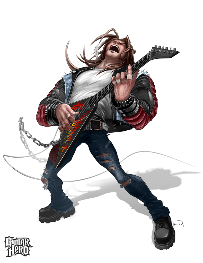 Axel- guitarhero by HOON