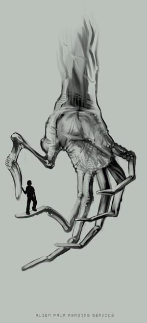 Alien palm reading tutorial APRS01_by_HOON