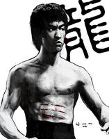 :the dragon: BRUCE LEE by HOON