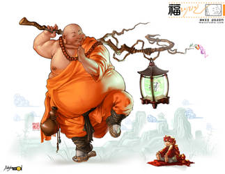OKII JIJIN- Ninja Talkshow by HOON