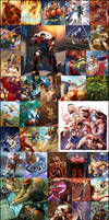 STREETFIGHTERccgs art by MESSS
