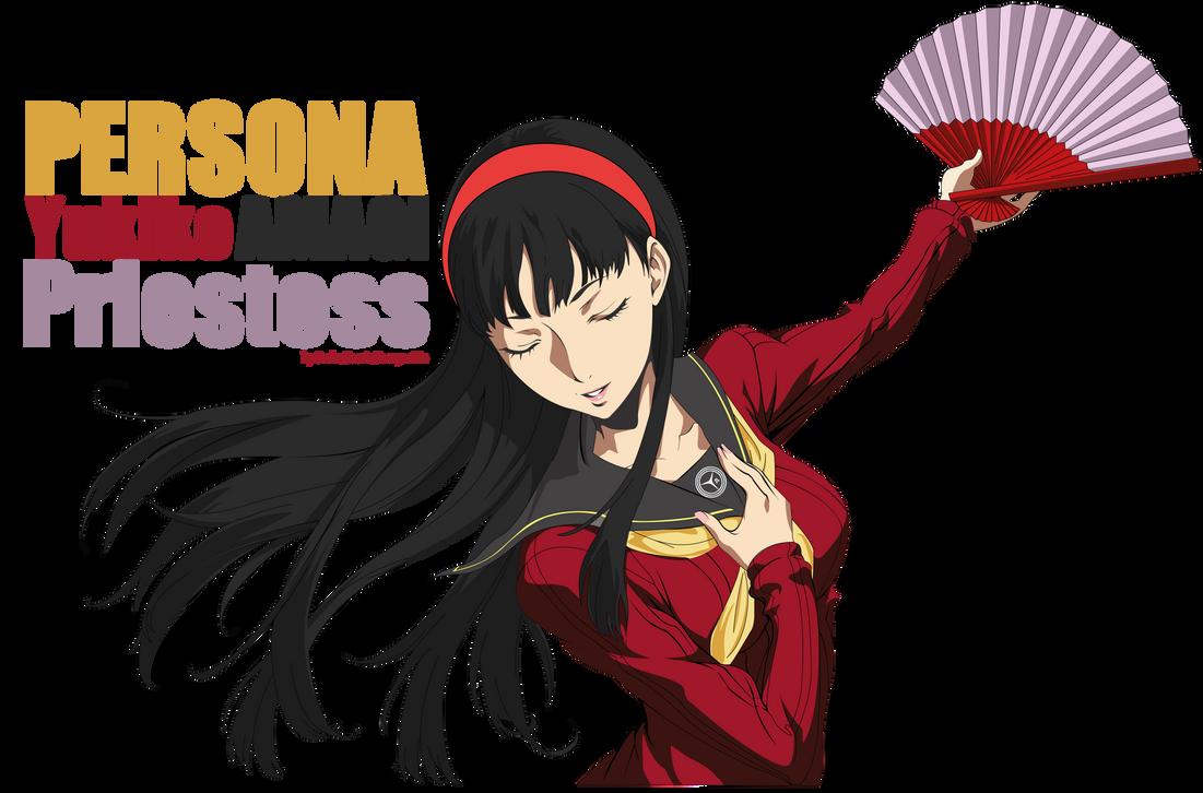 Yukiko Amagi Persona 4...Persona 4 Arena Yukiko Amagi