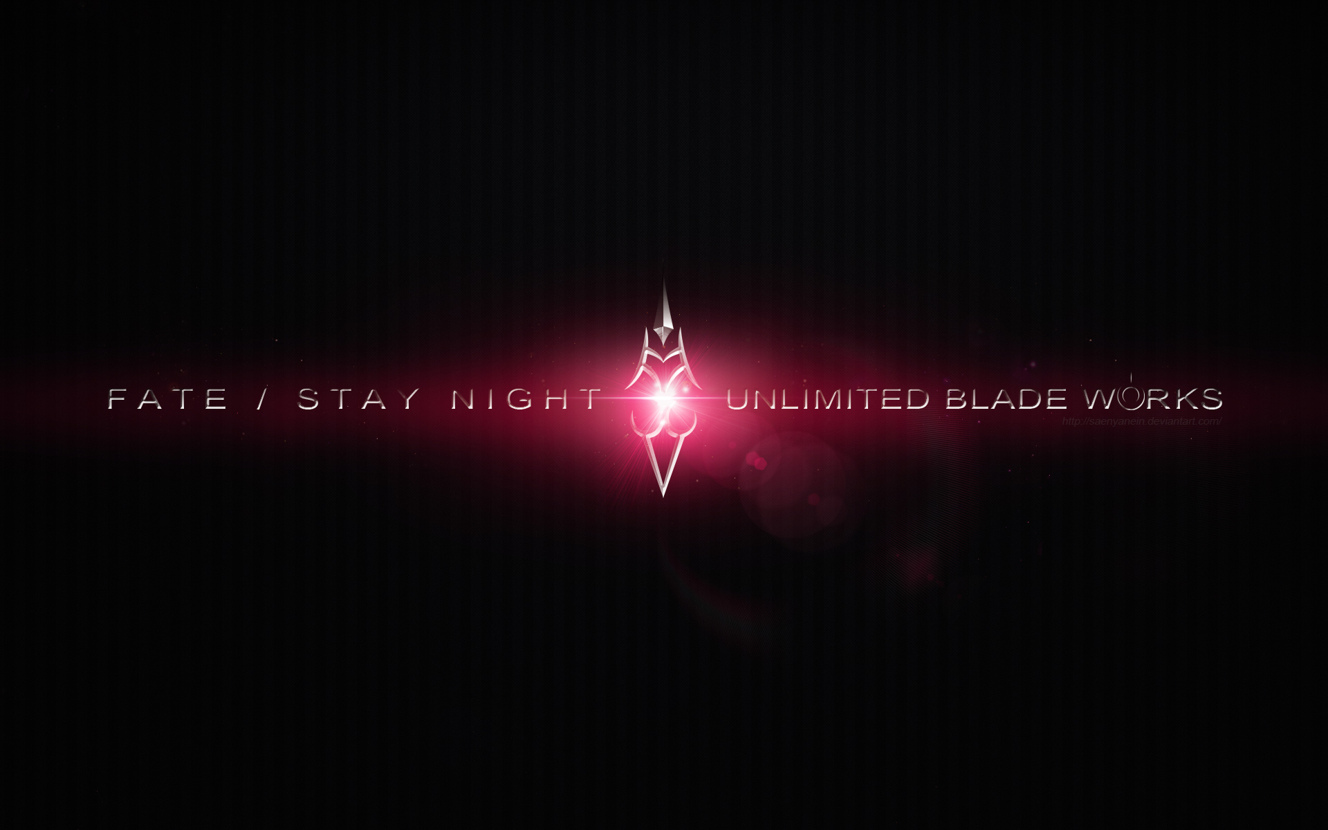Fate Stay Night Unlimited Blade Works Wallpaper By Saenyanein On