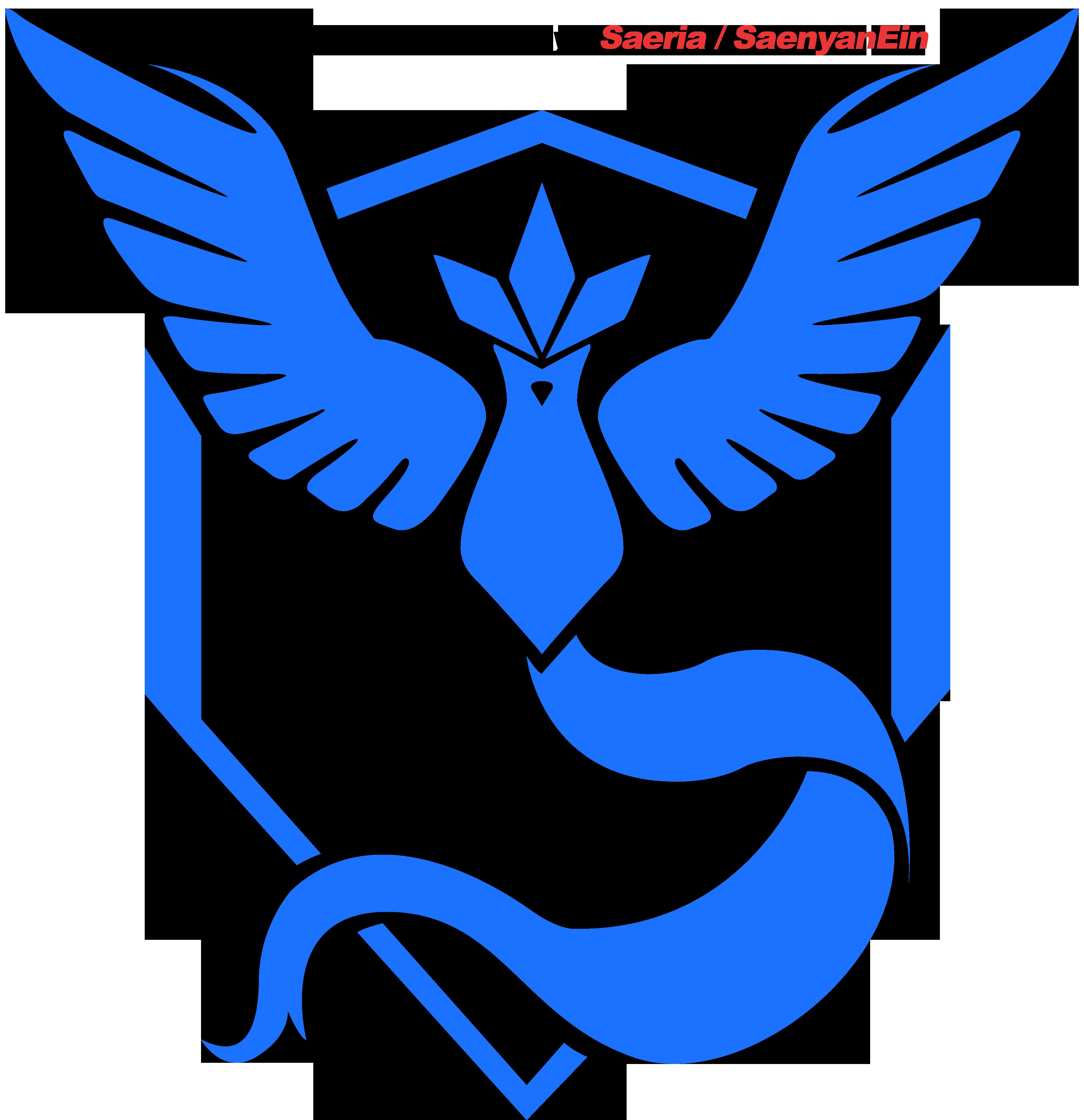 Pokemon Go Articuno Blue Team Logo 620435305