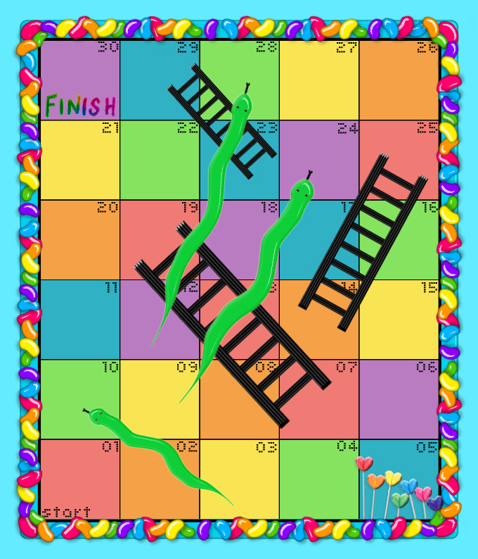 Free Printable Chutes And Ladders | New Calendar Template Site