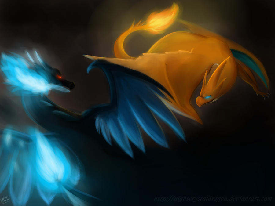 Charizard X Vs Y By NightCrystalDragon On DeviantArt