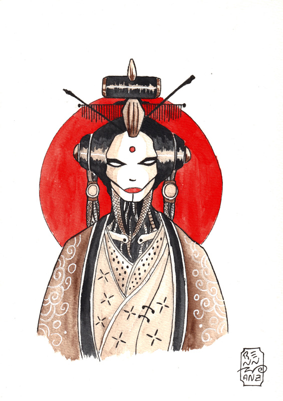 geisha-bot warm-up by Solanum80