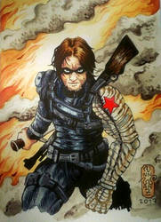 Winter Soldier commission