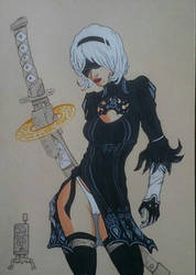 2B from Nier:Automata