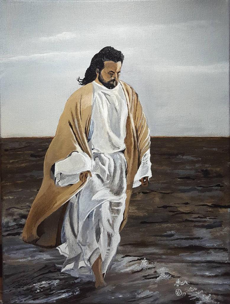 He Walks by evopics