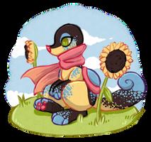 Field of Sunflowers [Prompt] by KelpiePie