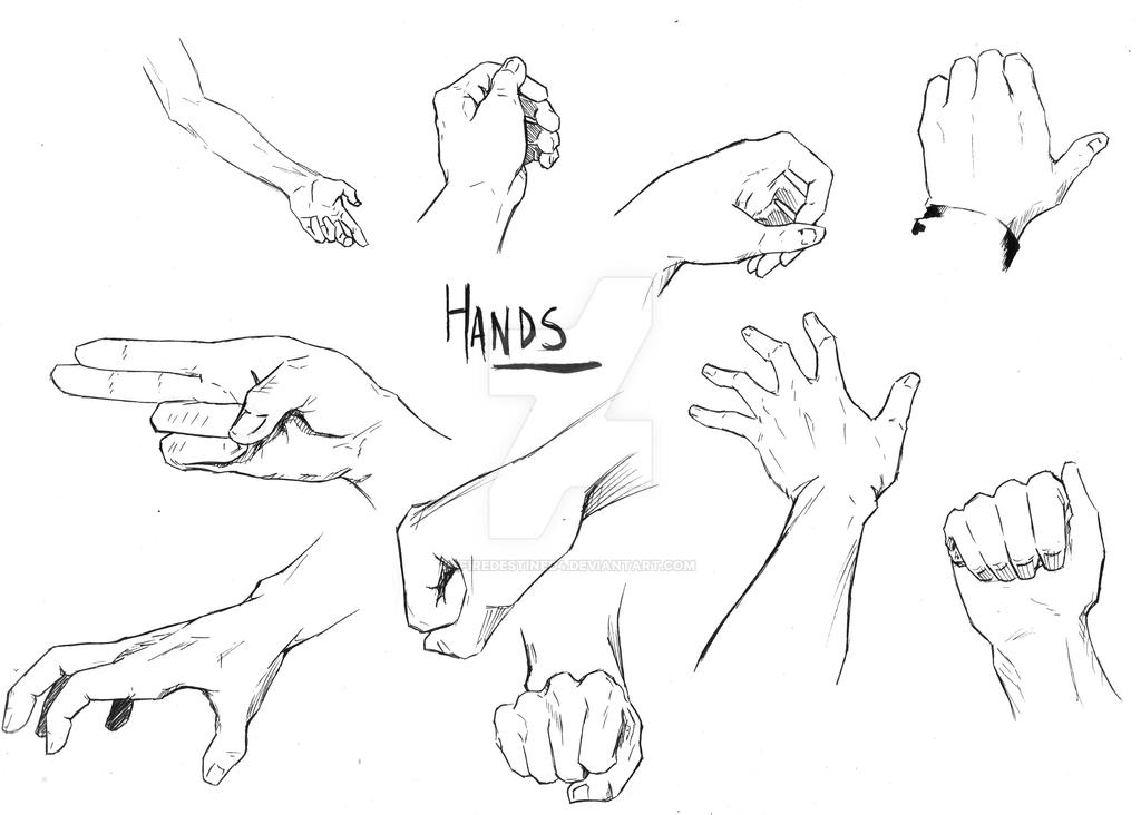 more hand practice by FireDestined4