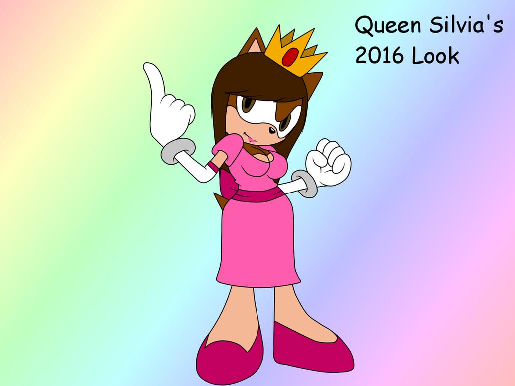 Queen Silvia's 2016 Look (The Royal Look) by QueenSilvia95