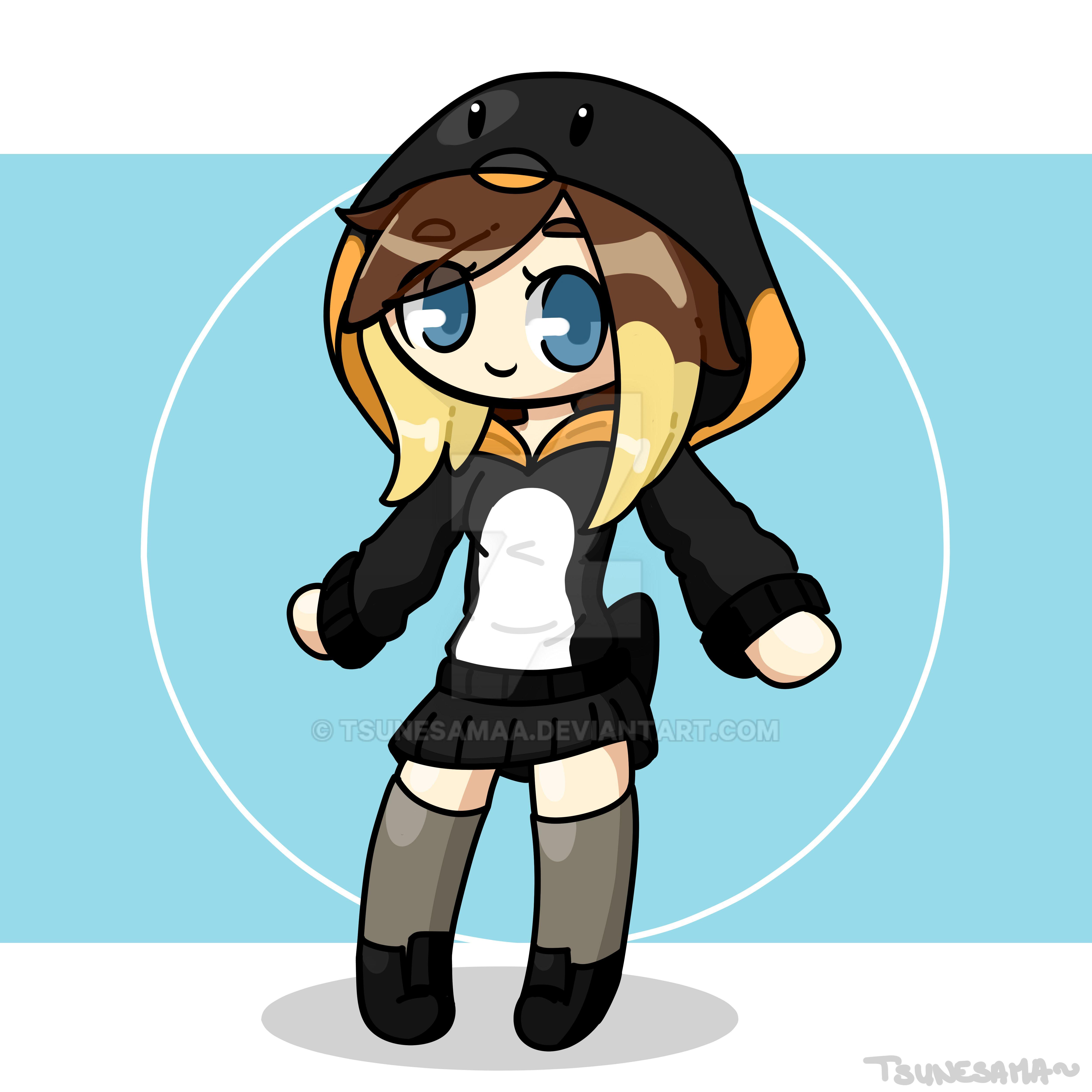 Cartoon style~ Tsune by Tsunesamaa