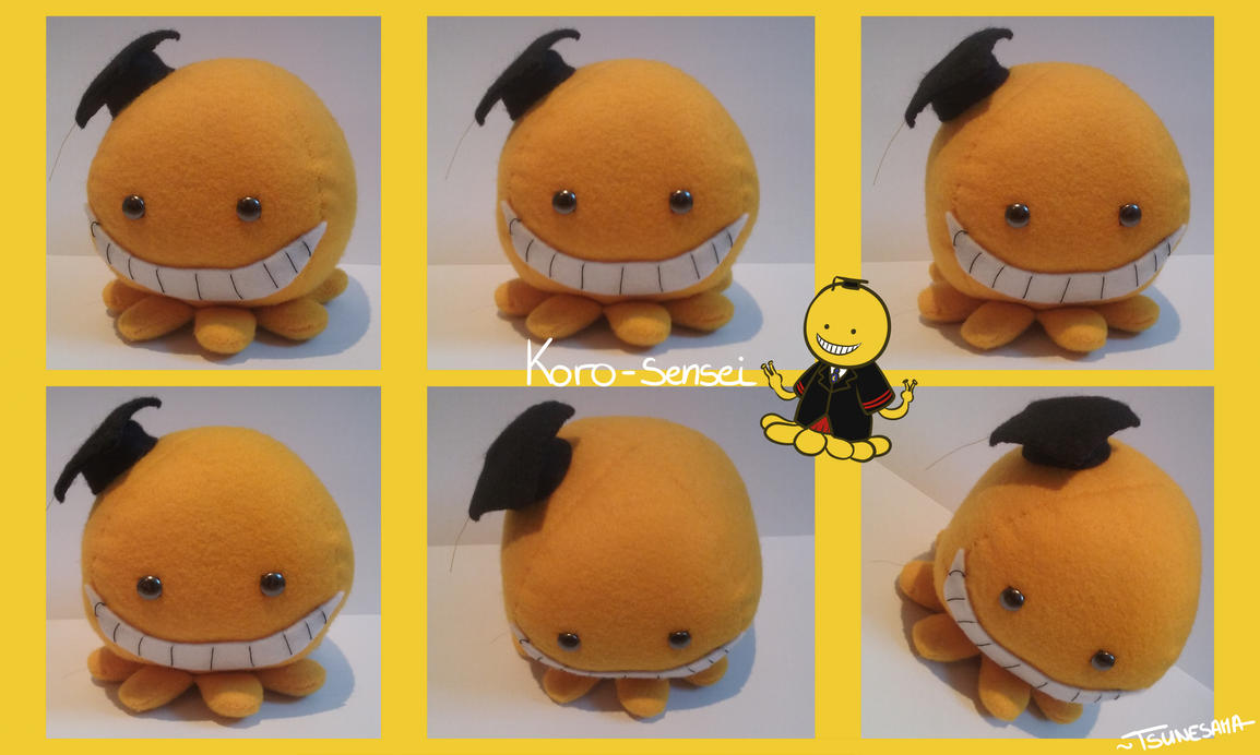 [Sewing~] Koro Sensei plush by Nyoonchan