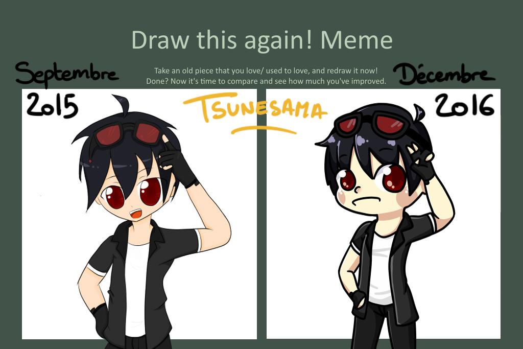 Draw this again meme - ExDemonisher by Tsunesamaa