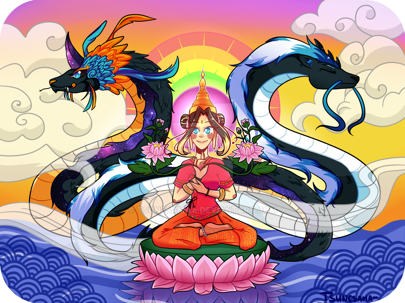 Open Your Chakras~ by Nyoonchan
