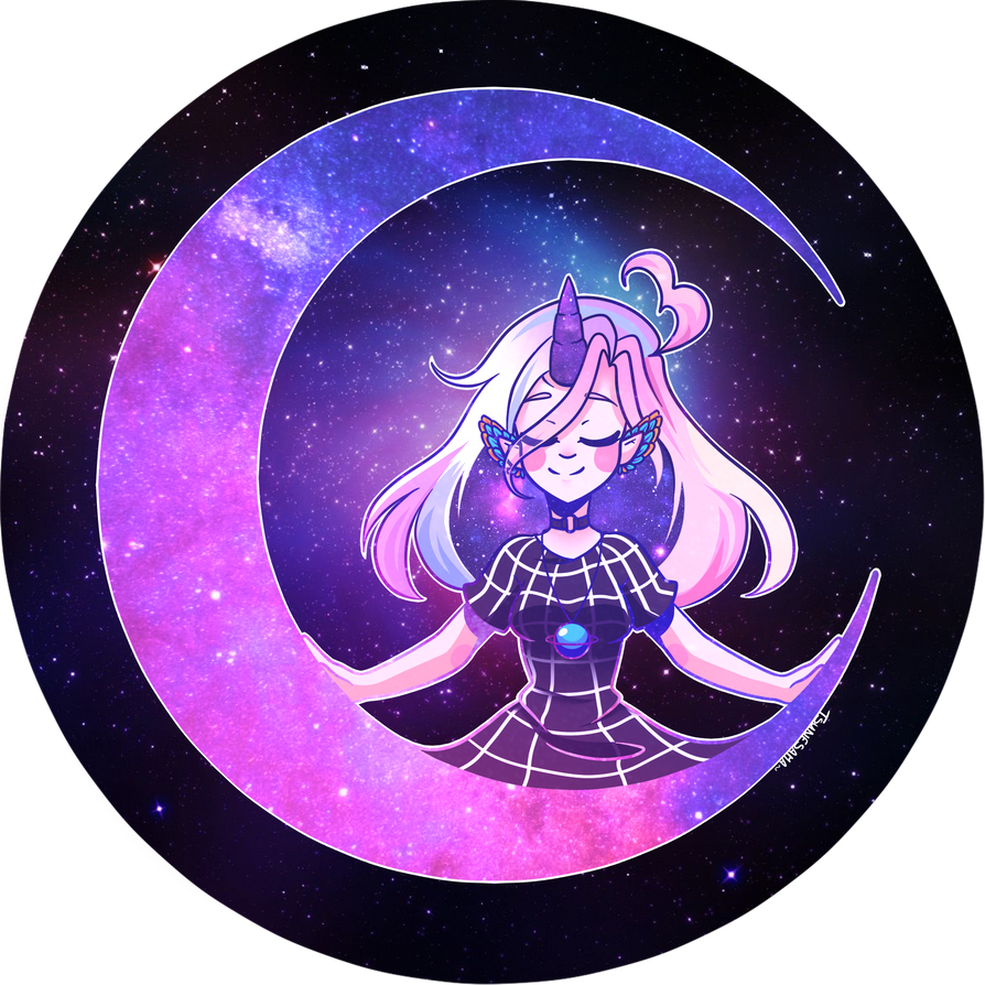 Fly me to the moon~ by Tsunesamaa