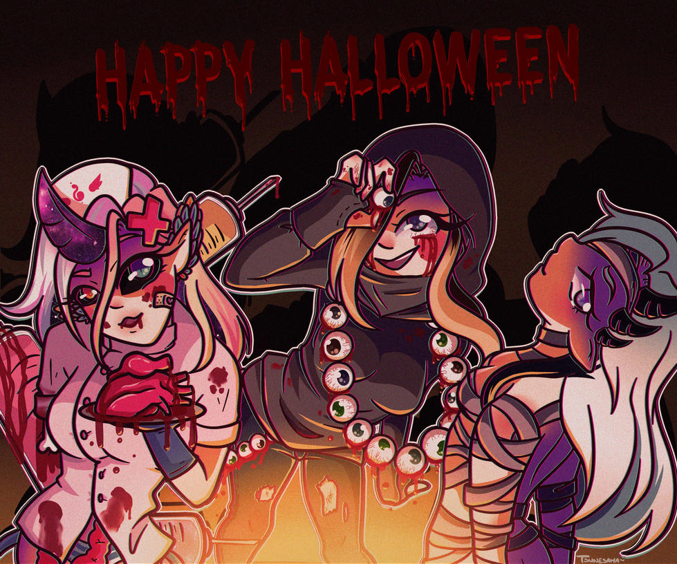 Happy Halloween !~ by Tsunesamaa