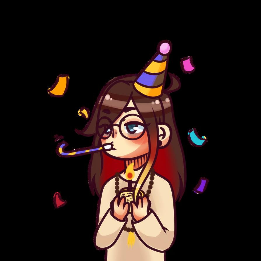 Much birthday, such wow by Tsunesamaa
