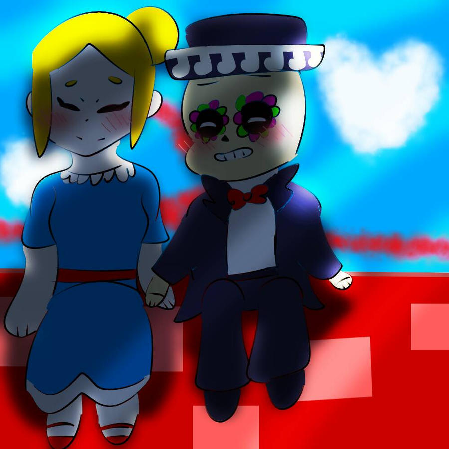 Piper x Poco  by Brawlstars-icecream on DeviantArt