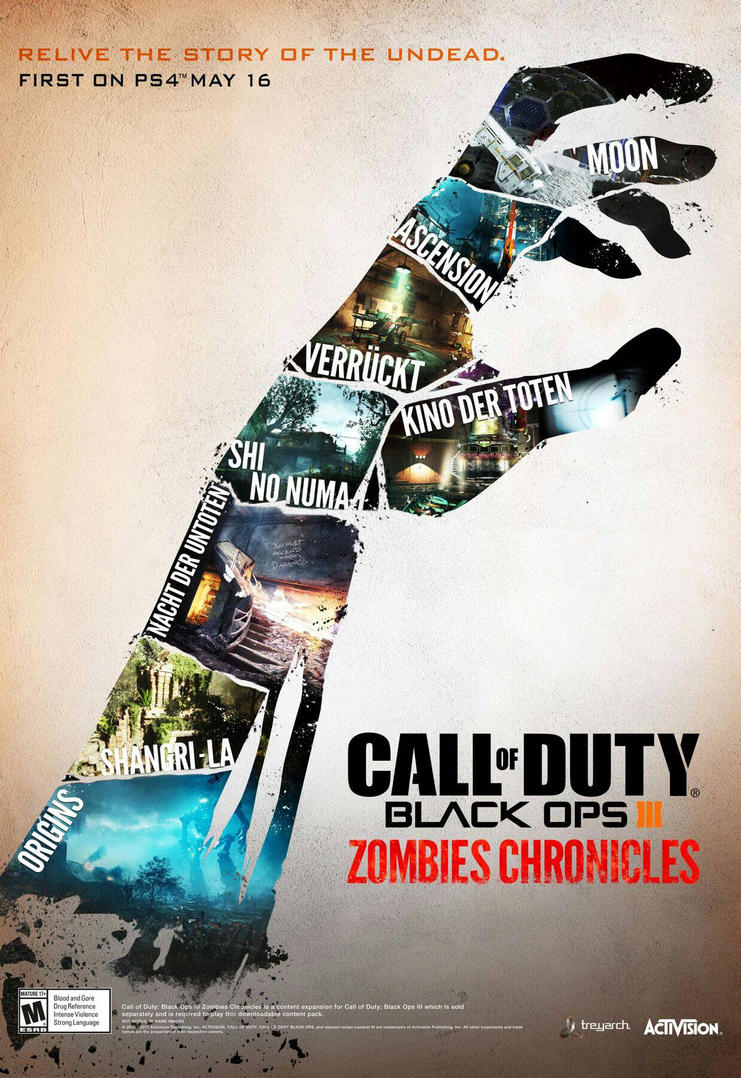 Call of Duty Black ops 3 Zombies Chronicles  by LieutenantPanzer1917