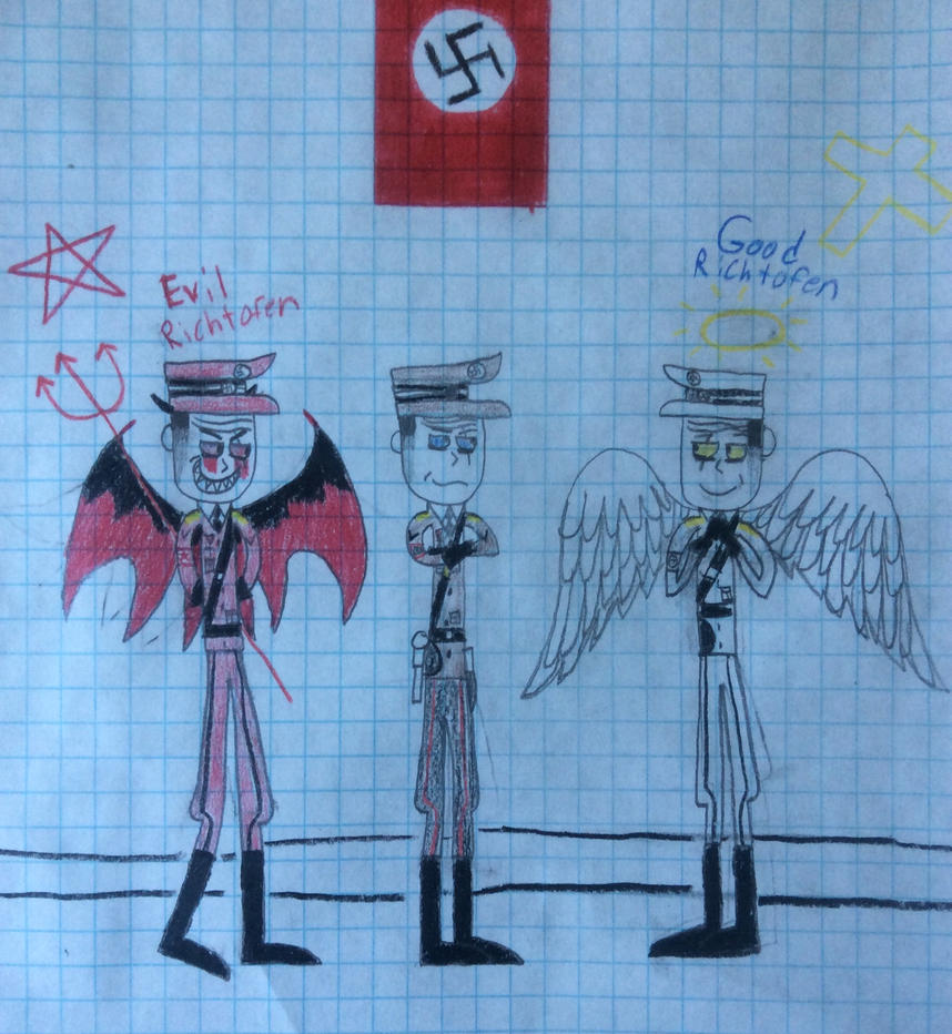 Good and Evil by LieutenantPanzer1917