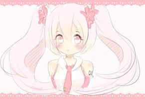 Sakura Miku by Moonx3