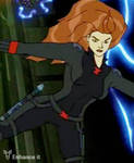 sexy black widow flip